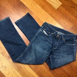 Diesel straight mini boot cut jeans